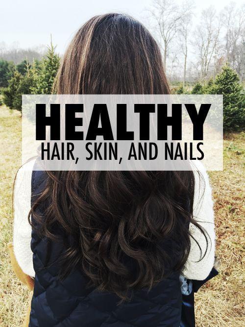 Healthy Hair, Skin, and Nails | eBay