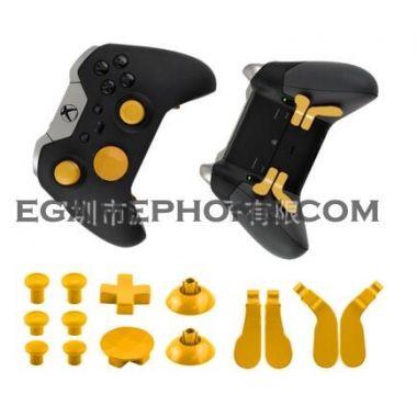 Colors Full 15pcs Metal Alloy Bumper Trigger Button Dpad