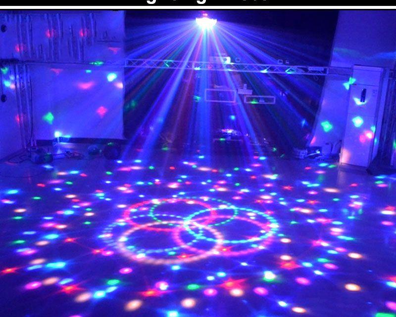 31 34 Transctego 9 Farben 27 Watt Kristall Magic Ball Gefuhrt Buhne Lampe 21 Modus Disco Laserlicht Parte Glow Birthday Party Glow Party Neon Birthday Party
