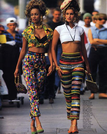 Tyra Banks On The Runway: Fashion, 90s Fashion