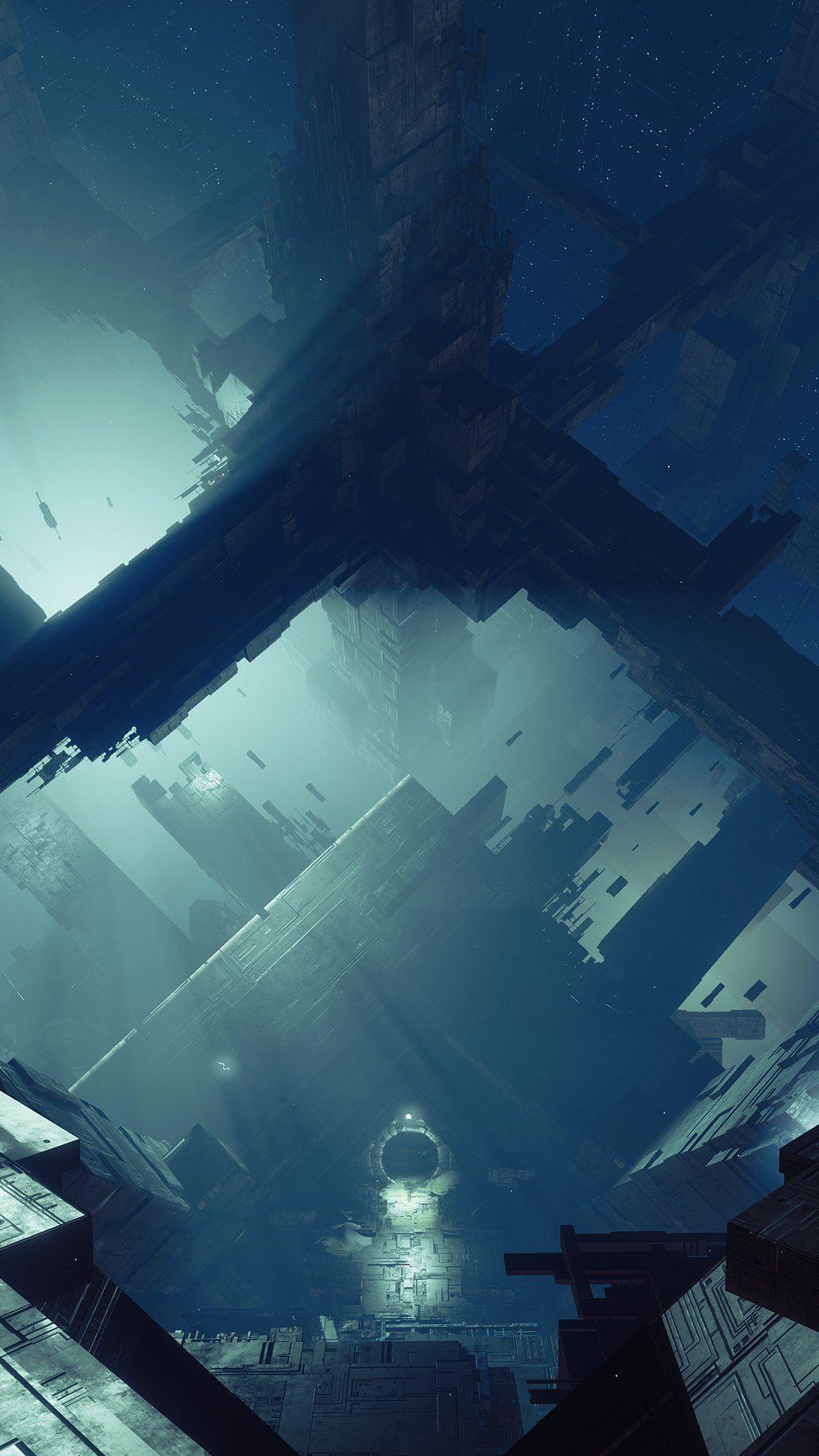 4k Destiny Warlock Wallpaper In Destiny Backgrounds Landscape Concept Destiny Warlock