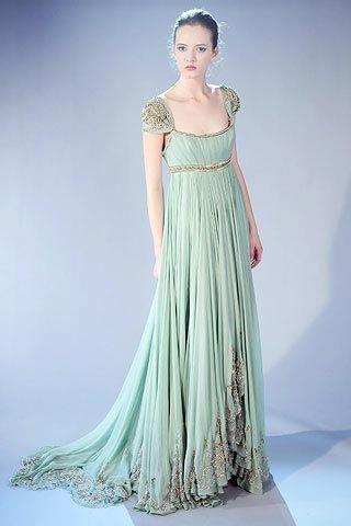 d208b7dd371c Marchesa Seafoam Gown | Gorgeous Gowns | Bridesmaid dresses, Dresses ...