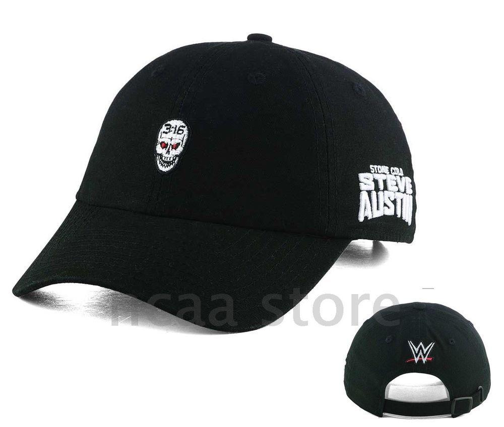 435da845c Stone Cold Steve Austin 3:16 Skull WWE Mens Black Original Design ...