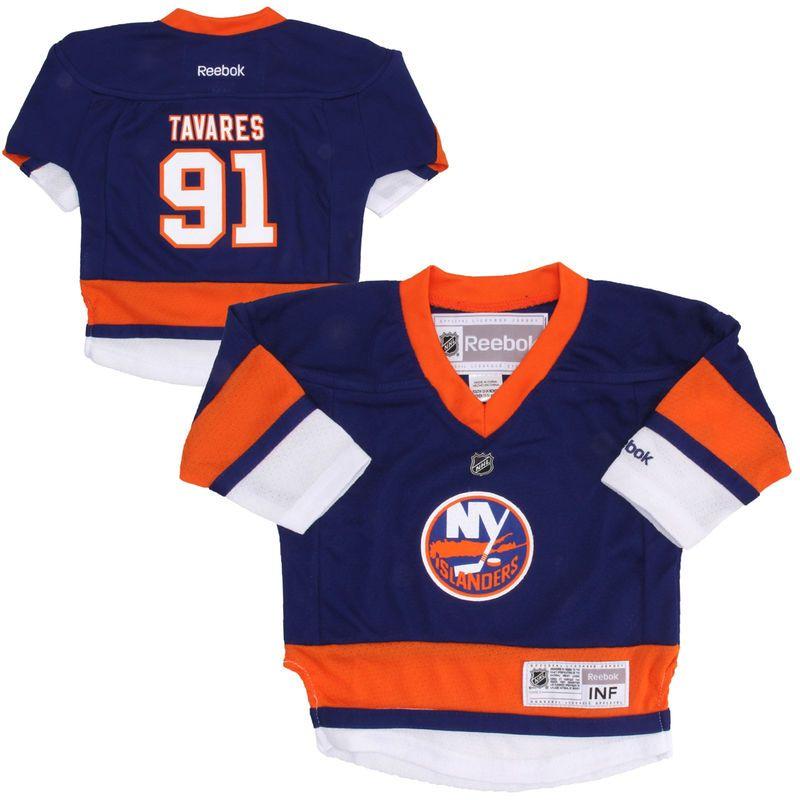 8cba59a2e Reebok John Tavares New York Islanders Toddler Replica Player Jersey - Royal  Blue