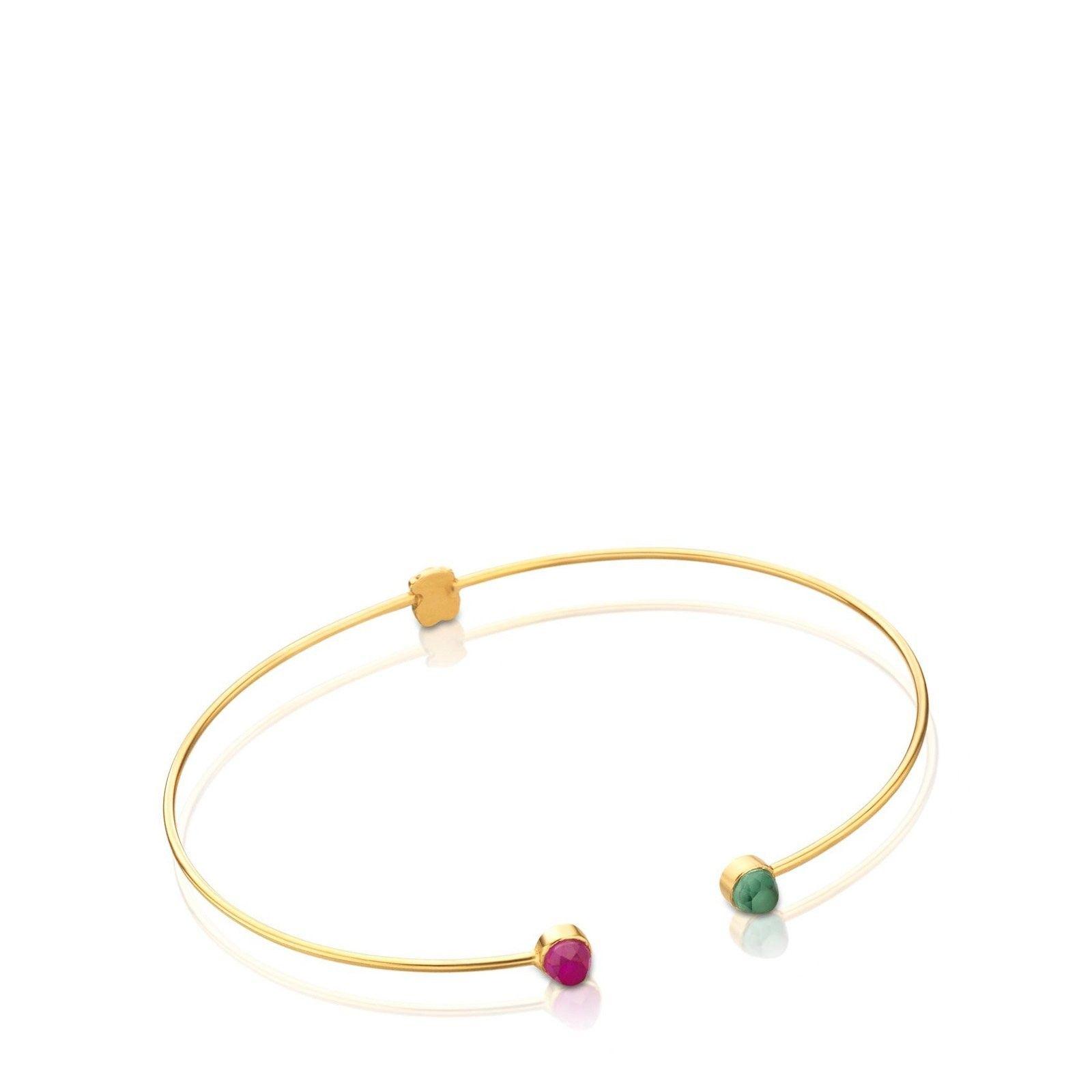 98be866827dd Pulsera Mini Bright de Oro - Tous