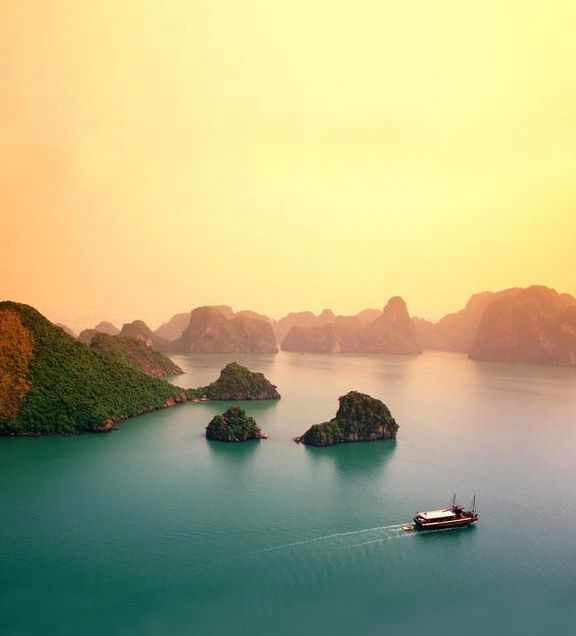 Ha Long Bay #Vietnam- diving, swimming, plankton, relaxing....