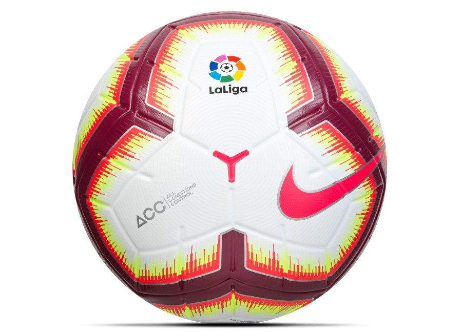 football  soccer  futbol  nikefootball  laliga Nike 18 19 La Liga Merlin  Official Match Football 4a41eb2163df4