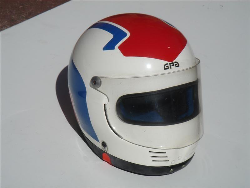 Gpa F1 Kevlar 1980s Helmet Motorcycle Helmets Racing Helmets