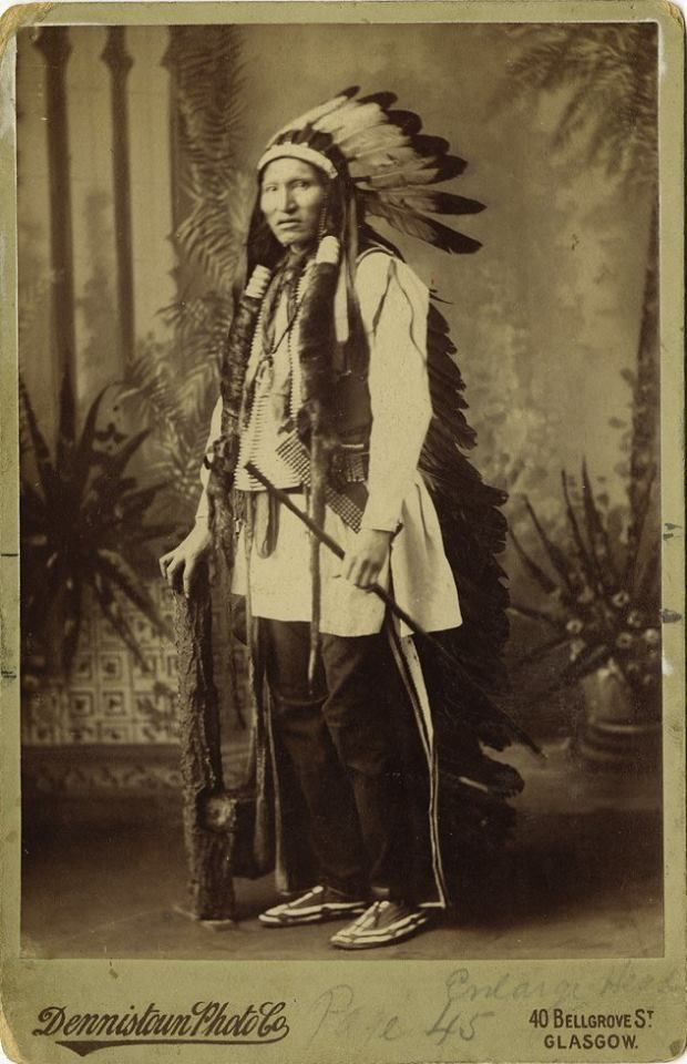 Matȟó Wanáȟtake (aka Kicking Bear) - Oglala Lakota/Mniconjou Lakota - before his death in 1904