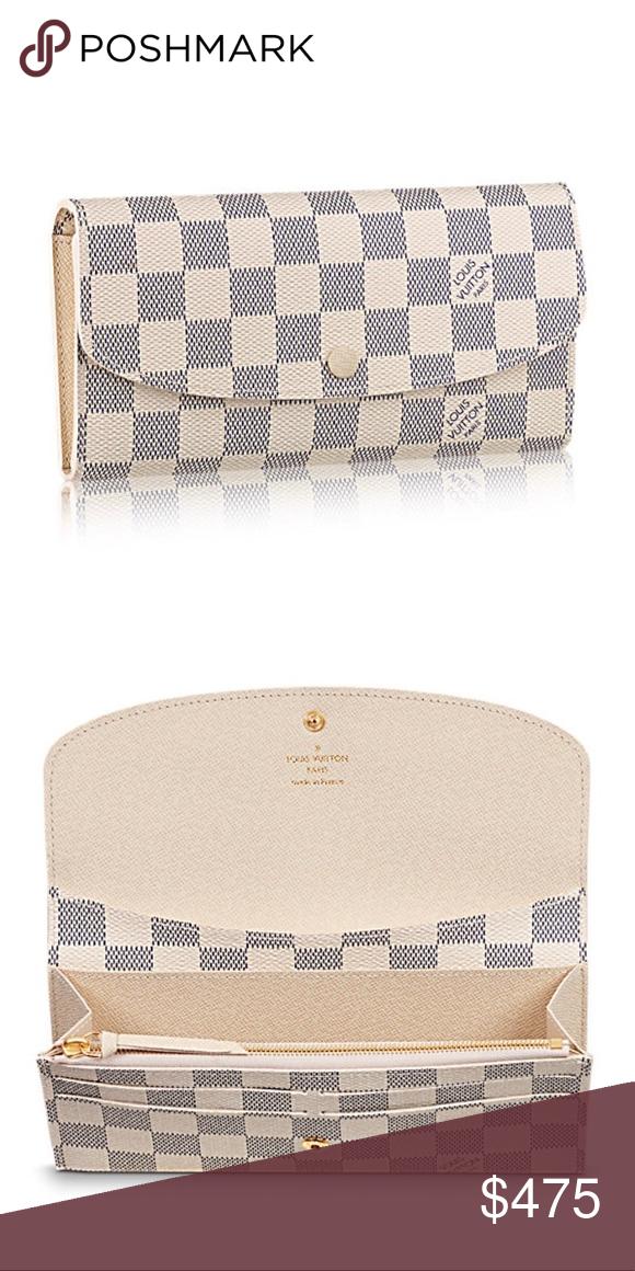 d6b78649dec5 Louis Vuitton Emilie Wallet 100% Authentic Louis Vuitton Emilie Wallet