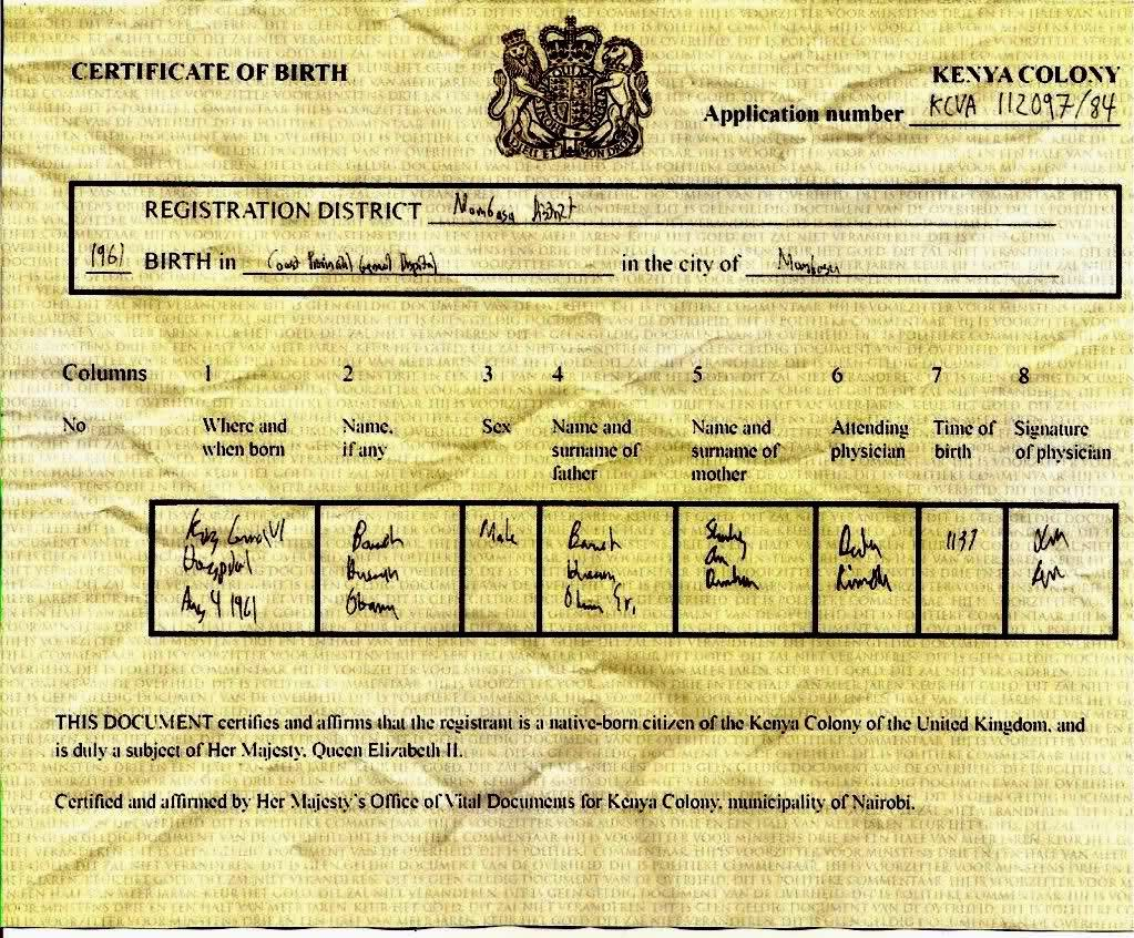 Certificate of birth kenya colony barack hussein obama certificate of birth kenya colony barack hussein obama aiddatafo Image collections