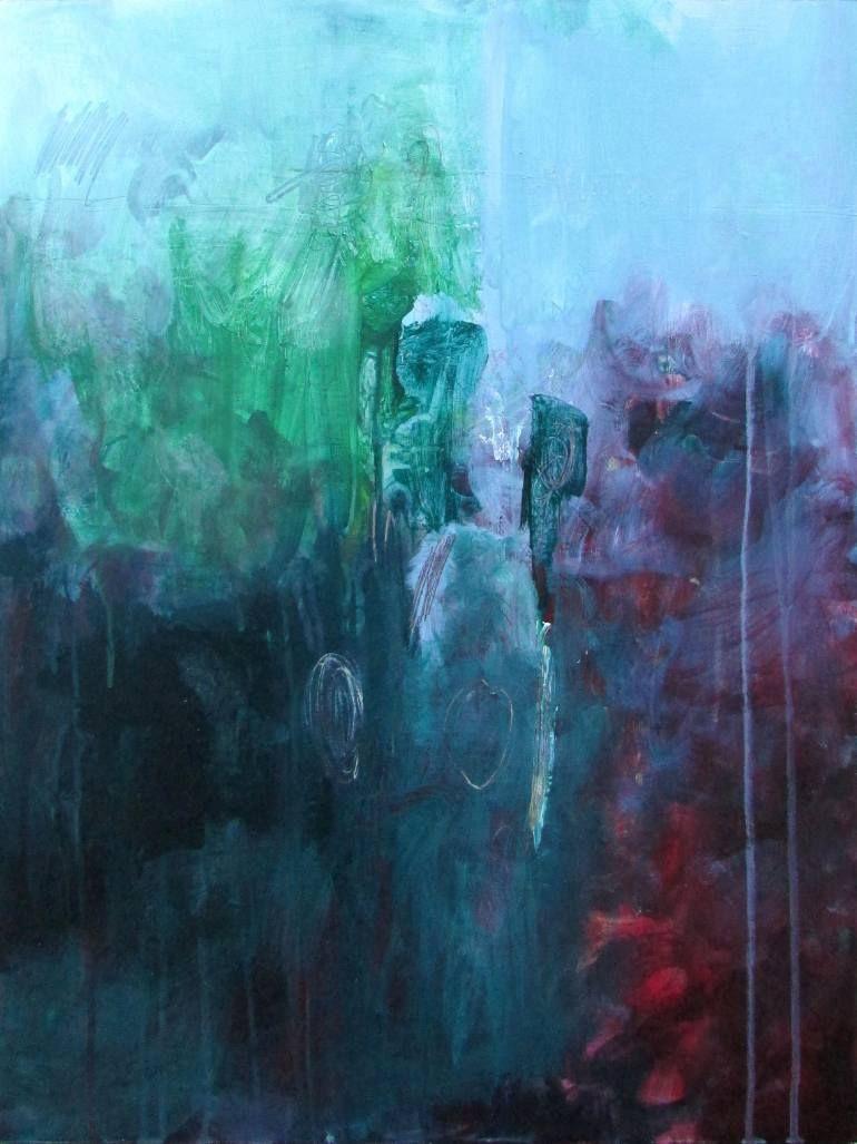 """Saatchi Art   Artist Michael Rider;   Painting, """"Dark Dive"""" #art"""