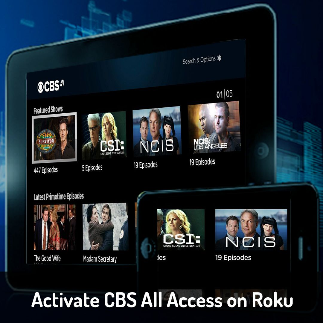 Looking for Activate CBS All Access on Roku here is the