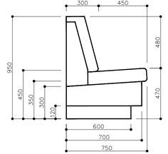 Corner Booth Dimensions