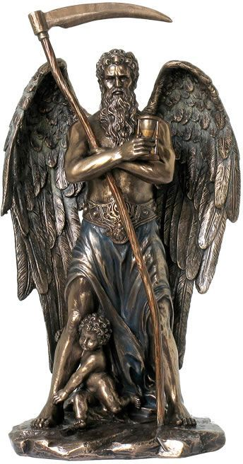 Chronos Statue Greek God Of Time From The Greek And Roman