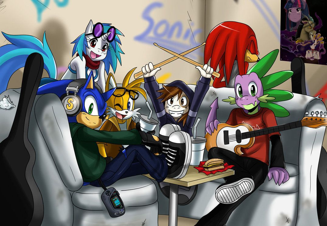 Group Shot by *ss2sonic on deviantART
