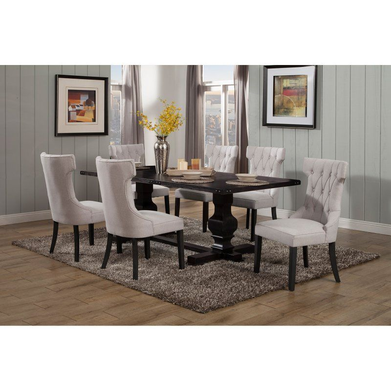 Alpine Furniture Manchester Dining Table With Images Alpine