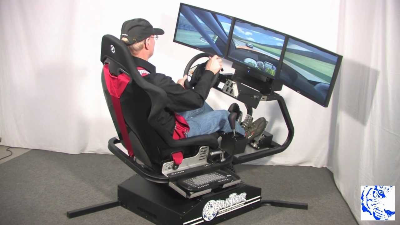 Bluetiger Full Motion Racing Simulator 12 12 Mp4