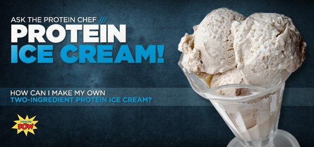 Protein ice cream bodybuilding