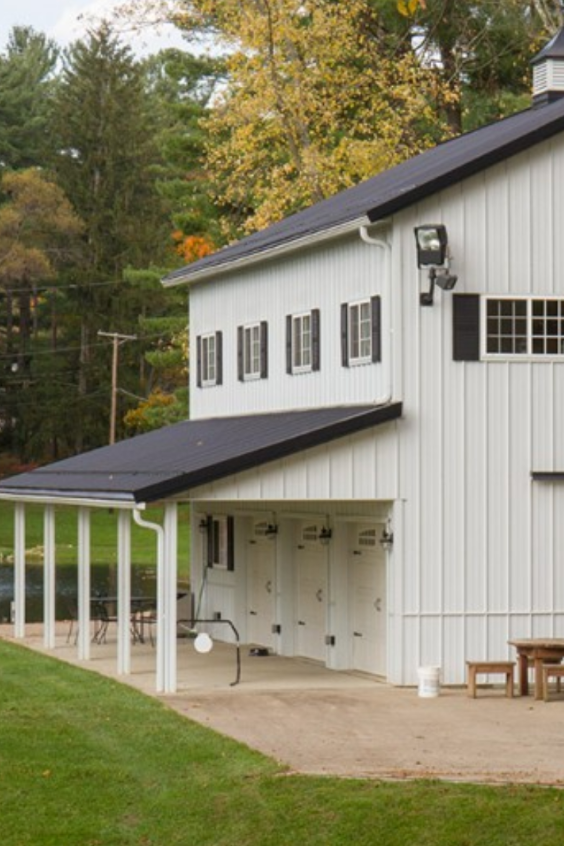 50+ Metal Pole Barns You Are Going To Love #polebarnhouses Remember, pole barns have no foundation. So, it can easily be torn down by a heavy storm. You need to study different types of pole barns to arm yourself with enough knowledge.  #Polebarn  #Metalbarn  #Metalhome #polebarnhomes