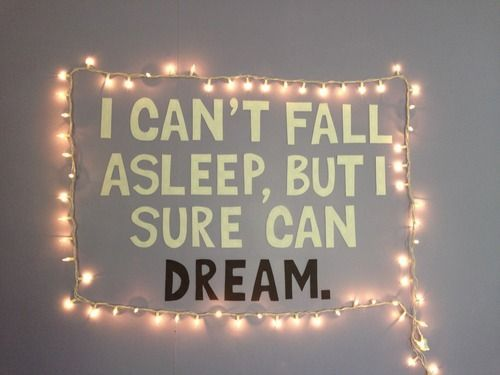 Tumblr Rooms Tumblr Diy Wall Quote And Lights Design That I
