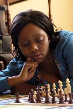 Rochelle Ballantyne - African American chess player  She is