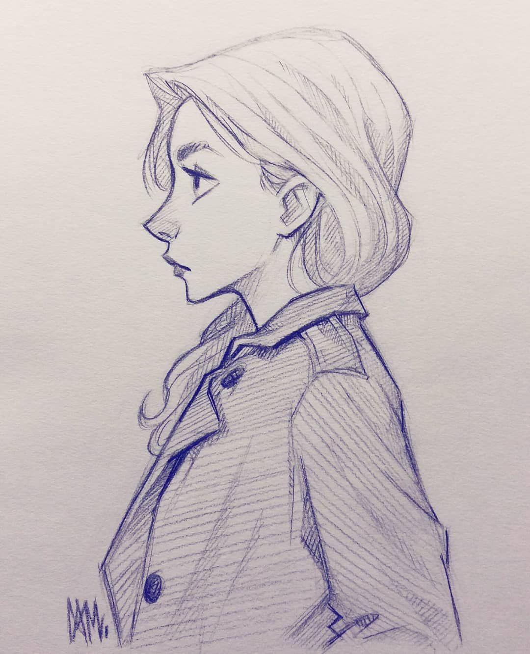 Simple Sketch Before Bed Sketch Doodle Art Illustration