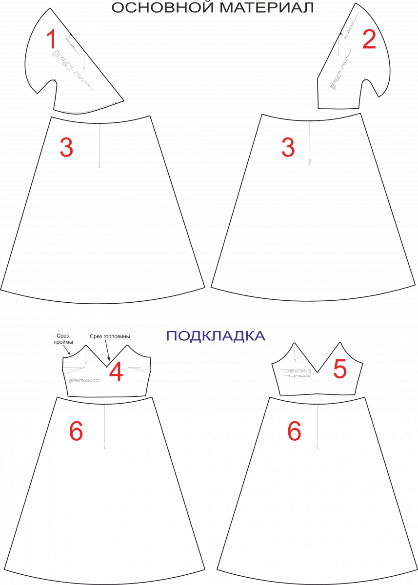 Деталь Женского Платья 4 Буквы
