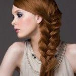 love this braided look!