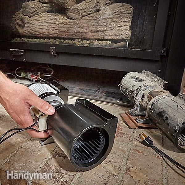 Noisy Gas Fireplace Blower Here S How To Replace It Gas