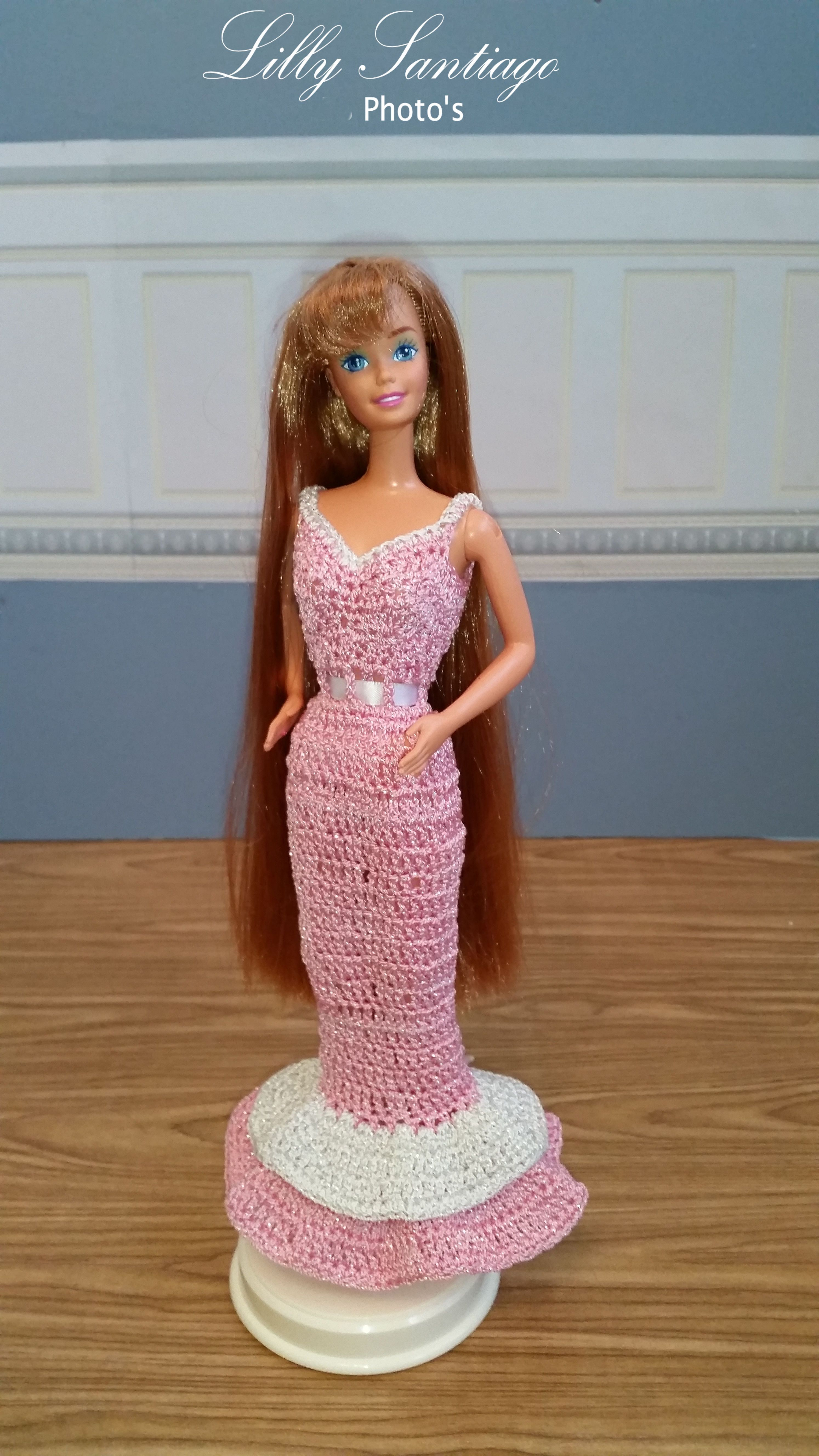 Crochet dress by Lilly Santiago   Barbia   Pinterest   Juegos de ...