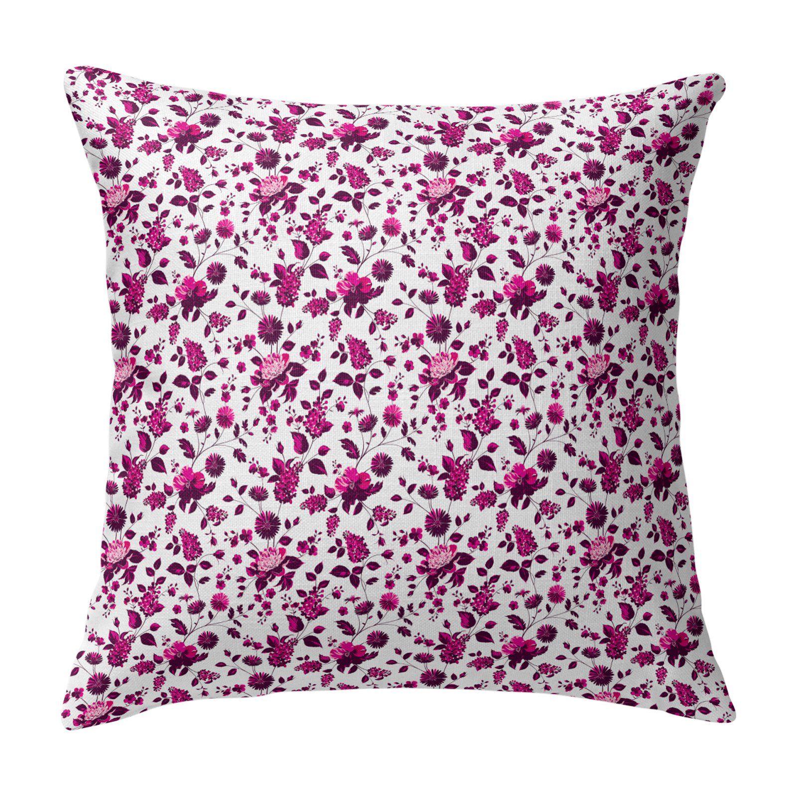 Kavka Designs Bouquet Bunch Accent Pillow By Terri Ellis