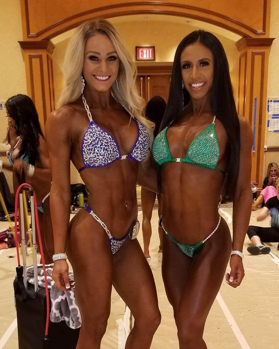 Transformationtuesday From Bikini Amateurs Swipe Right To Ifbb Bikini Pros In 2016