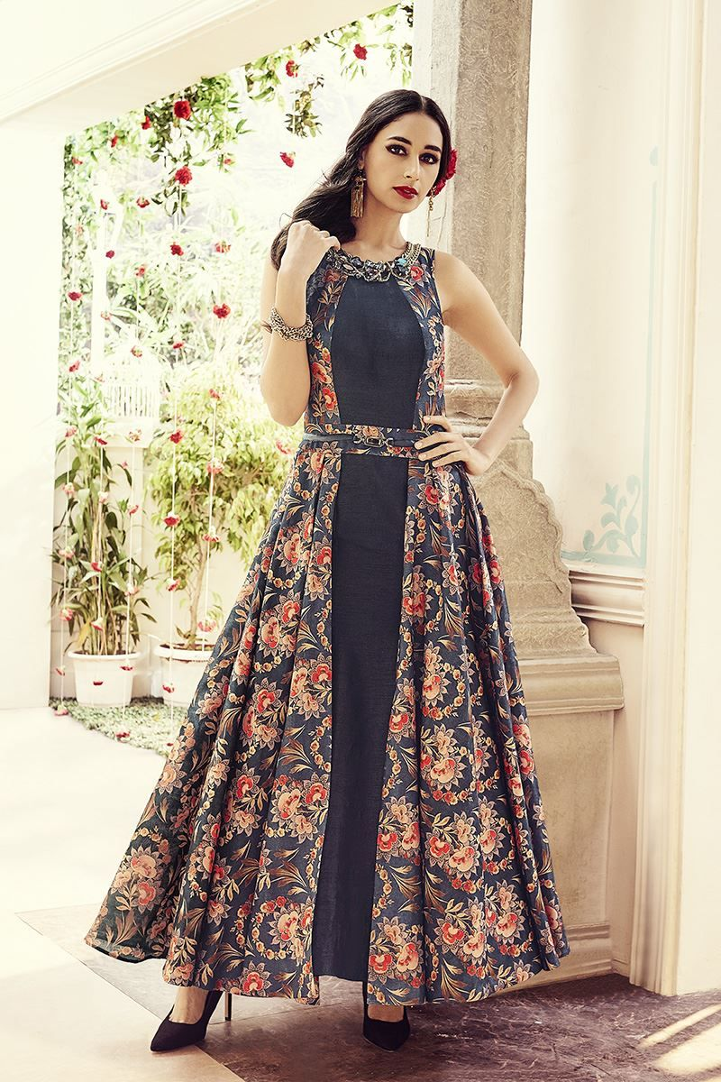 the gallery for gt indo western anarkali dresses for women