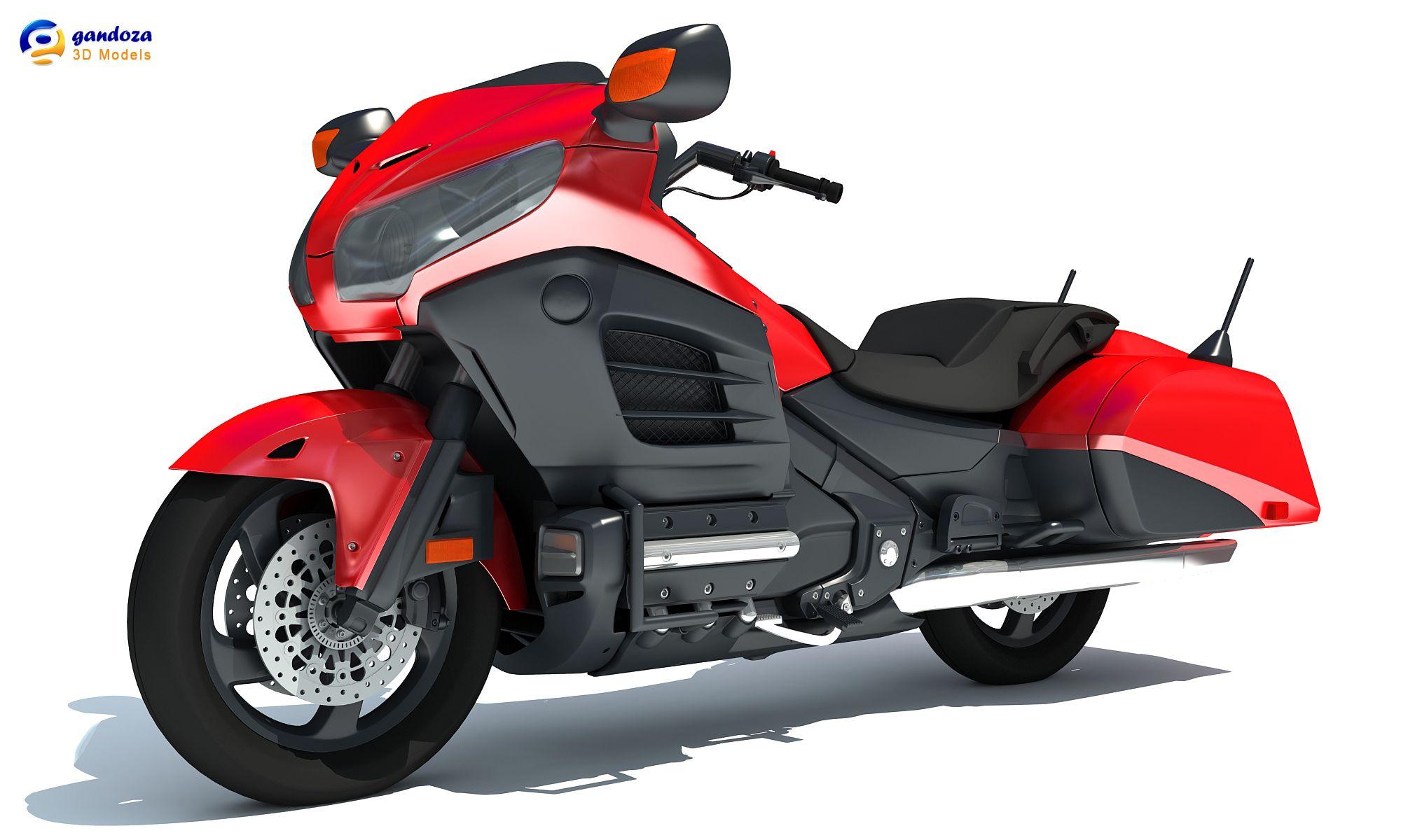 honda goldwing motorcycle models  Honda Goldwing Motorcycle 3D Model | Hot Rides | Pinterest | Honda
