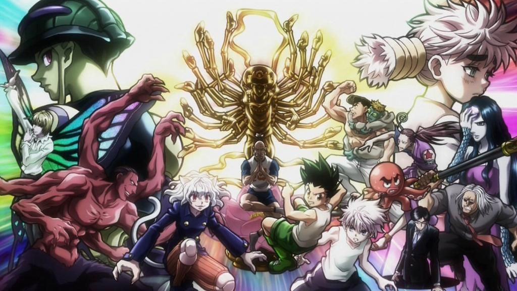 Japanow On Twitter Hunter Anime Hunter X Hunter Anime Wallpaper