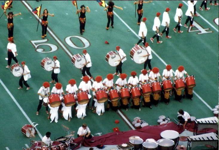 1988 Velvet Knights   Drum corps international, Drum corps, Knight