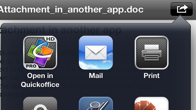 Quick Tip How to open an email attachment (like an MS
