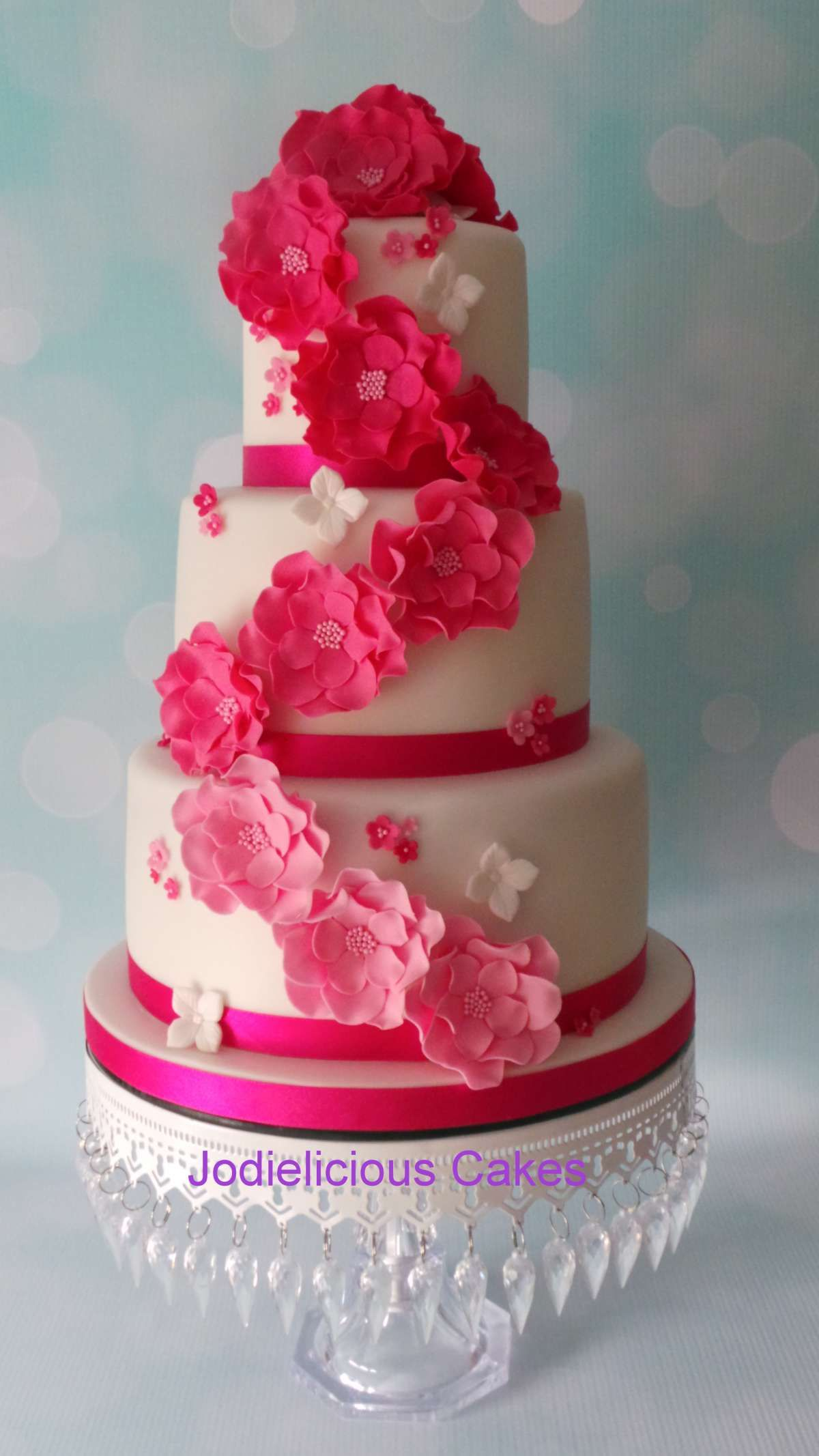 Pretty in Pink | Pretty Witty Cakes | Wedding Cake Ideas | Pinterest ...