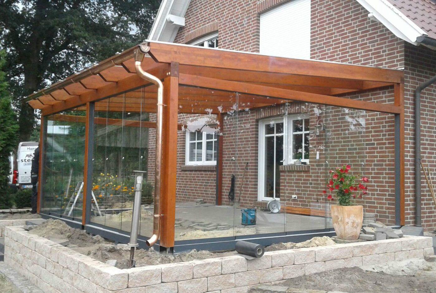 Terrassenuberdachung Freistehend Aus Holz Online Bestellen
