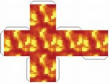 minecraft paper template lava - - Yahoo Image Search Results