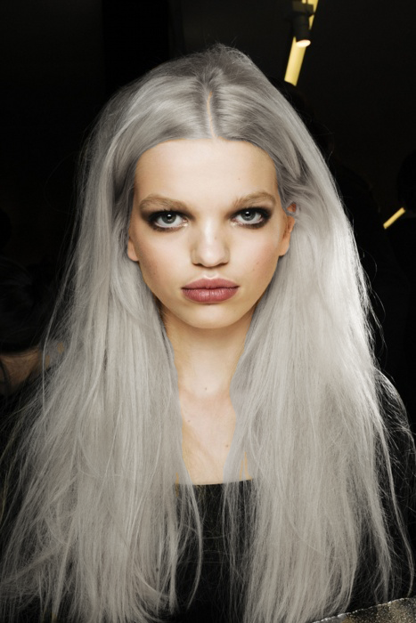 Grey hair is a good thing. Remind me why I buy the box of color? Maybe cuz not everyone looks thins good in Grey ;)