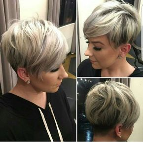 Frauen Frisur Hinten Kurz Cabello Frisuren Modische Frisuren Y