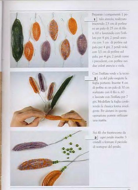 Virágok készítése(Több gyakorlást igénylő) - Leírások - Gyöngyékszerek magazin - Hotdog.hu