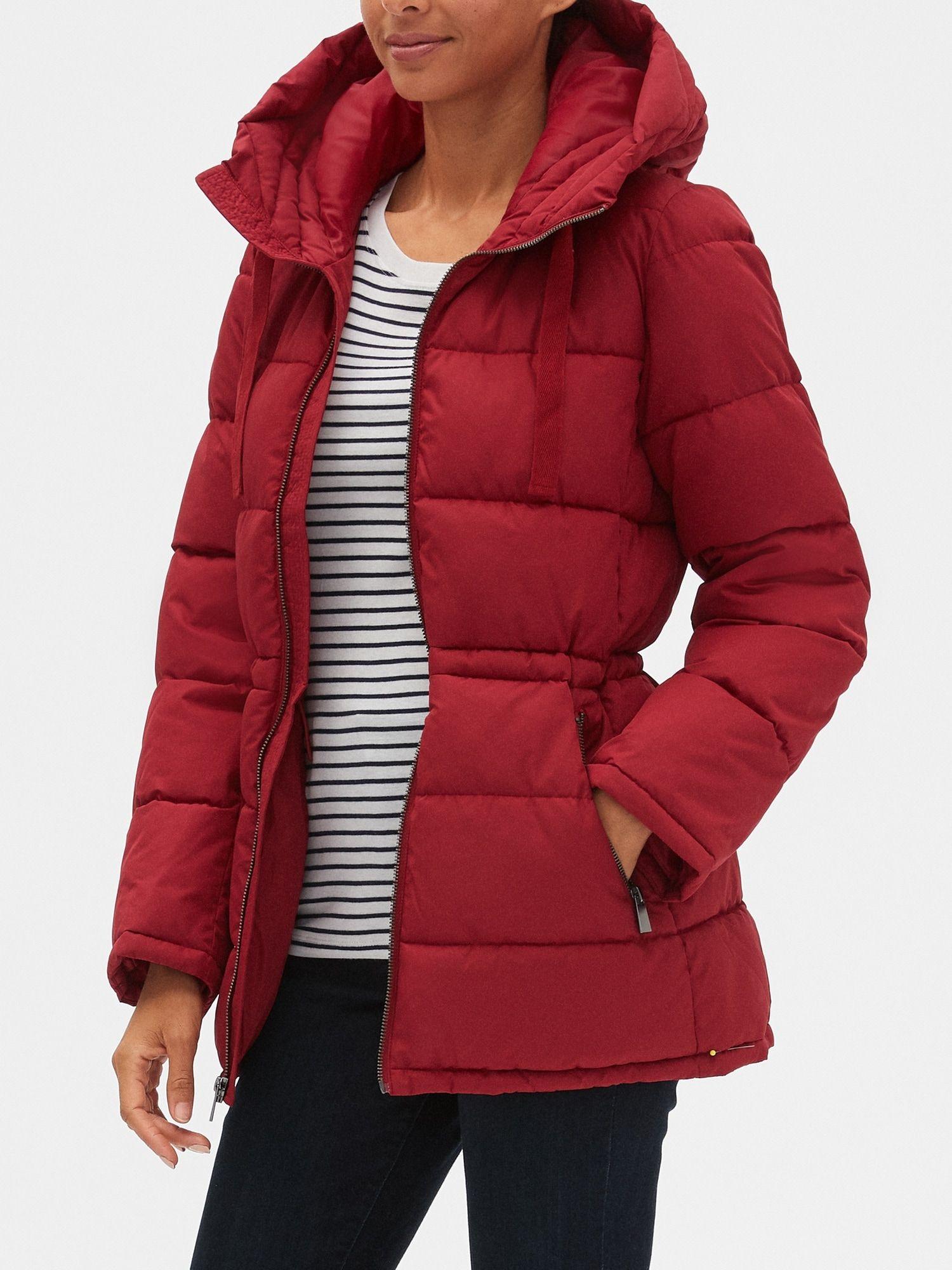Hooded Puffer Jacket Gap Factory Giftryapp Jackets Outerwear Women Outerwear [ 2000 x 1500 Pixel ]