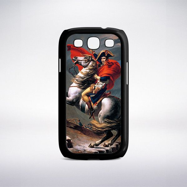 Jacques-Louis David - Napoleon Crossing The Alps At The Saint Bernard Pass Phone Case