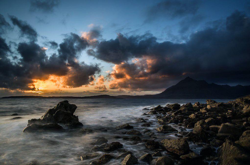 Evening at Elgol, Isle of Skye.