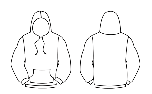 Download Black Hoodie Template Backpics For Hoodie Template Front And Back Ss9twl0i Png 641 397 Hoodie Template Black Hoodie Template Leavers Hoodies