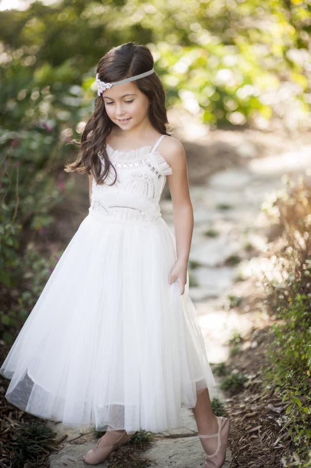4a095ac3586 Tutu du Monde Olivia Tutu Dress in Milk. Flower Girl Dress. Available to  rent for photo shoots