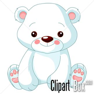 Clipart Baby Polar Bear Royalty Free Vector Design Polar Bear Drawing Polar Bear Cartoon Bear Cartoon Images